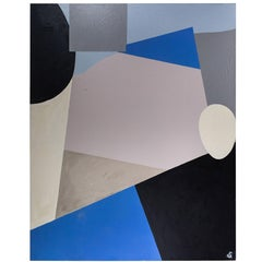 Large Scale Abstract Painting by Christopher Shoemaker, 2010