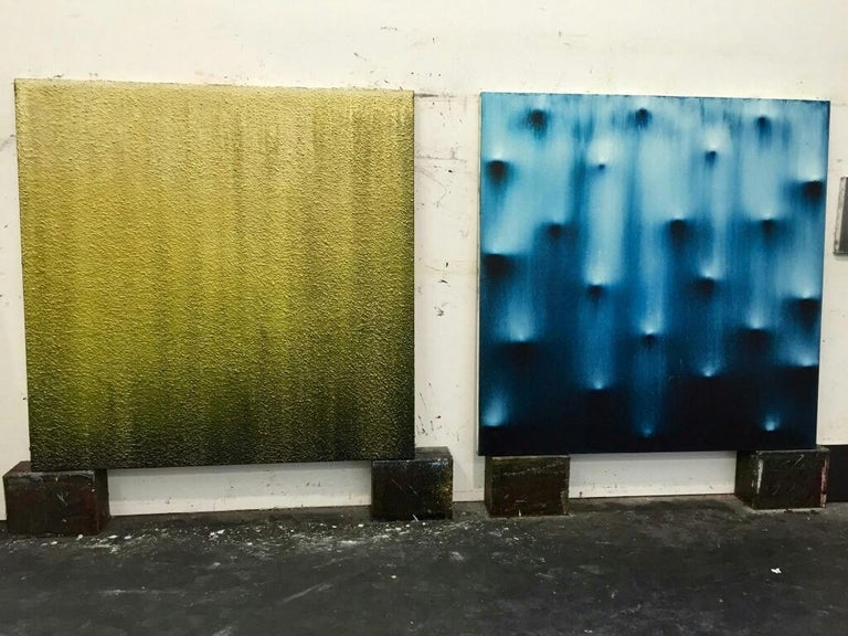 American Large-Scale Abstract Painting Entitled
