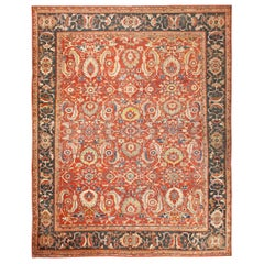 """Large Scale All Over Design Antique Persian Sultanabad Rug. Size: 13' 7"""" x 17'"""
