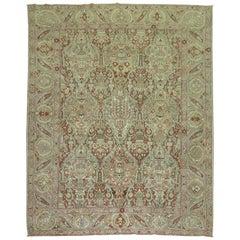 Large Scale Antique Room Persian Bakhtiari Rug