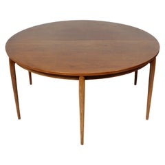 Large Scale Danish Modern Rosewood Dining Table
