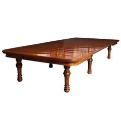 Large Scale Dining Table by Gillows