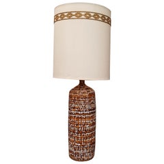 Large-Scale Drip Glaze Table Lamp