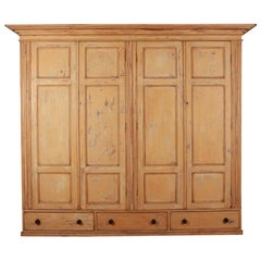 Large Scale English Housekeepers Cupboard