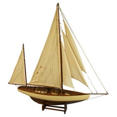 Large Scale Hand Crafted Sail Boat Model