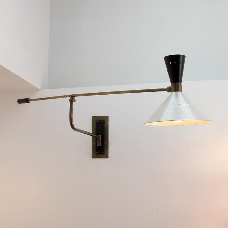 Large Scale Italian Swing Wall Light 3