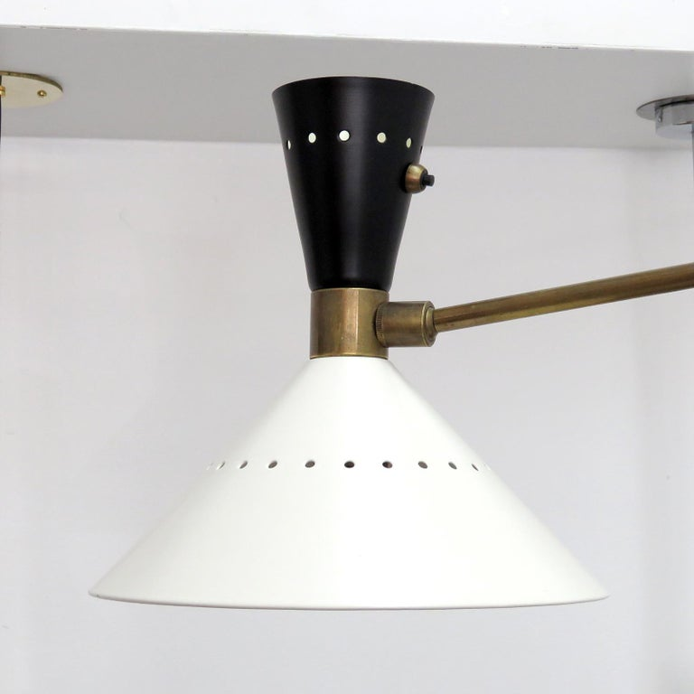 Large Scale Italian Swing Wall Light In New Condition In Los Angeles, CA