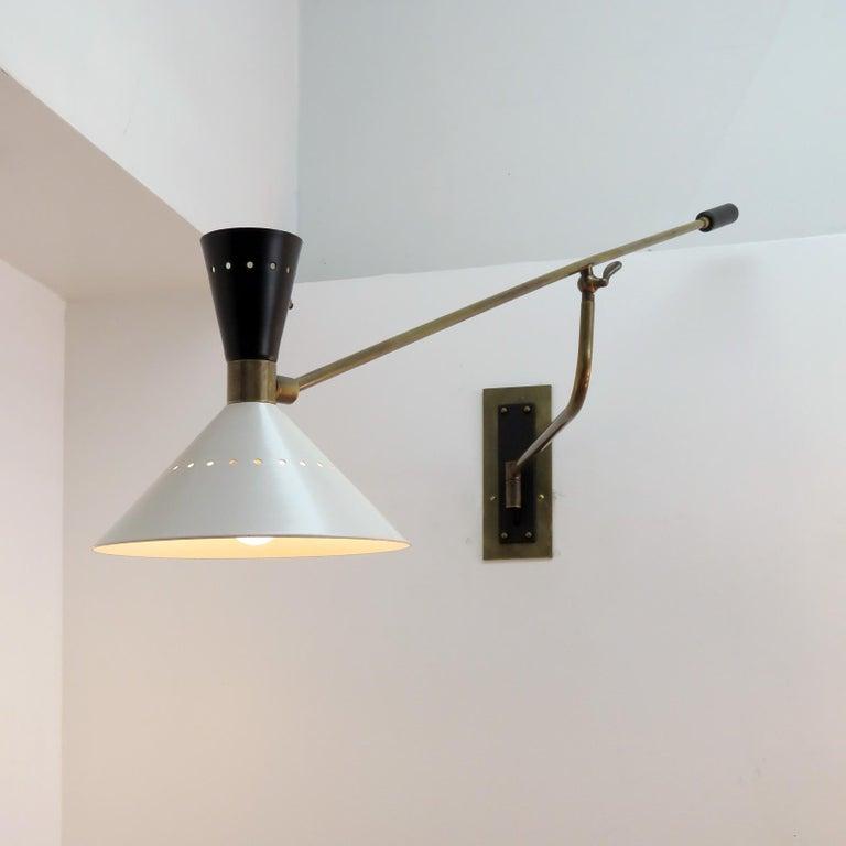 Large Scale Italian Swing Wall Light 2
