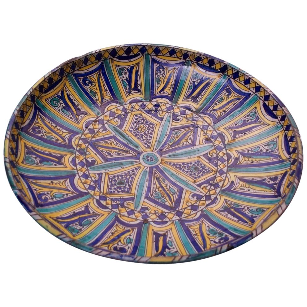 Large-Scale Italian Terracotta Charger