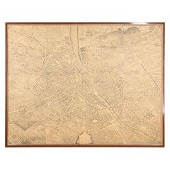 Large Scale Map of Paris