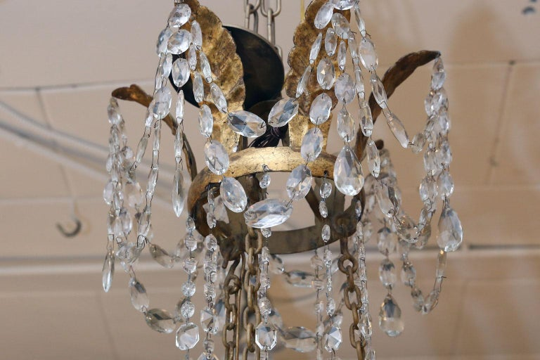 Large-Scale Neoclassical Chandelier For Sale 3