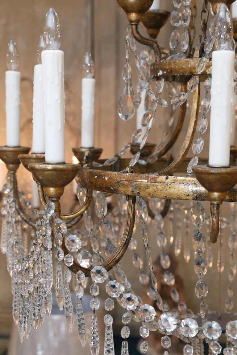 Large-Scale Neoclassical Chandelier For Sale 4