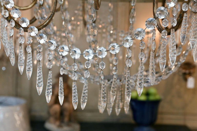 Large-Scale Neoclassical Chandelier For Sale 5