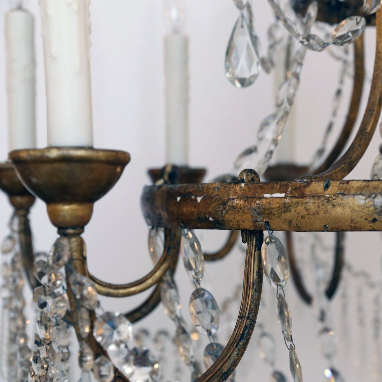 Large-Scale Neoclassical Chandelier For Sale 6