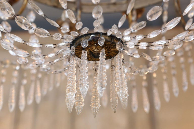 Large-Scale Neoclassical Chandelier For Sale 10