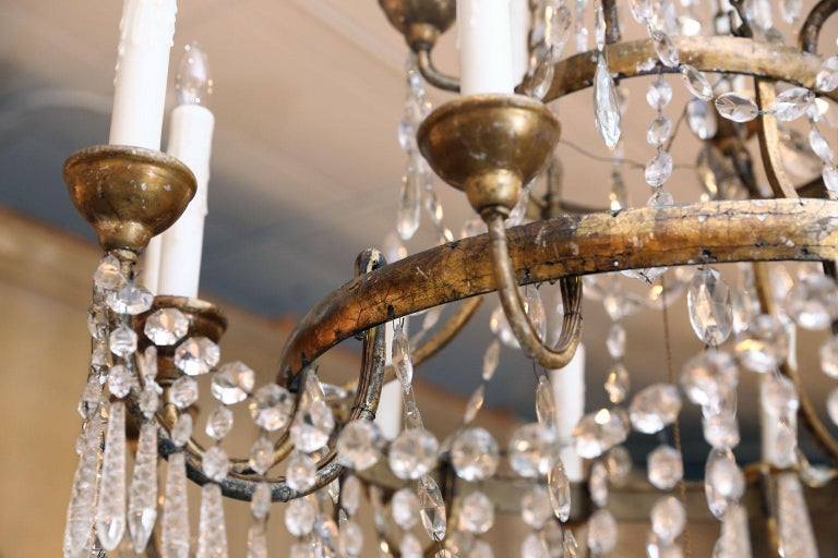 Large-Scale Neoclassical Chandelier For Sale 11