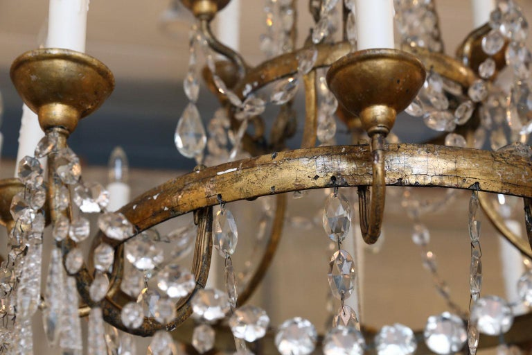Large-Scale Neoclassical Chandelier For Sale 12