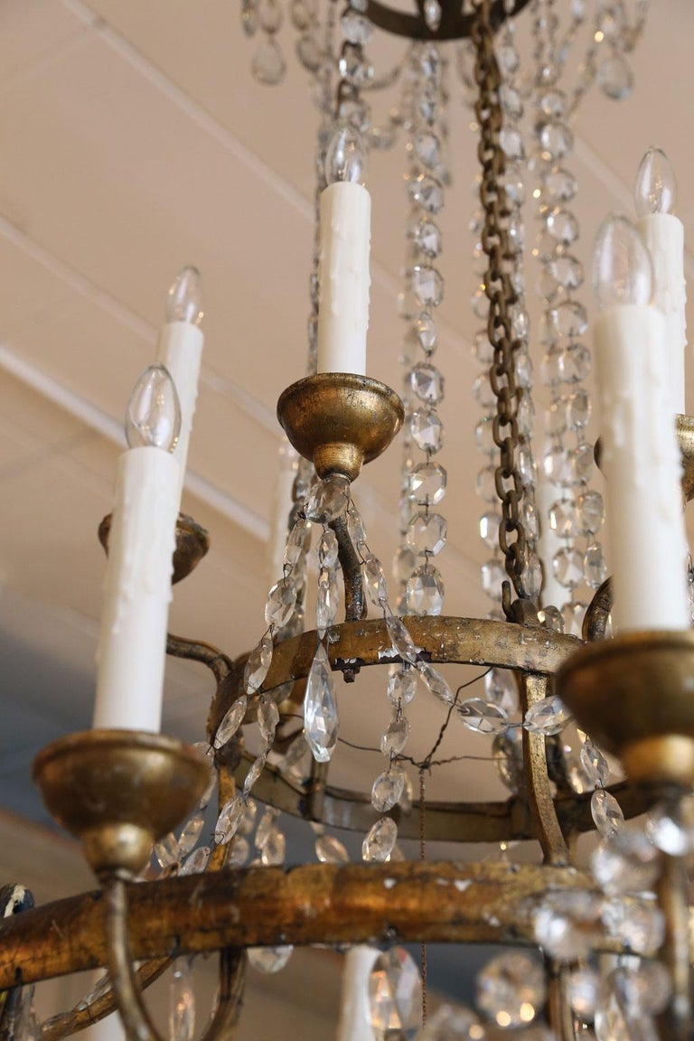 Large-Scale Neoclassical Chandelier For Sale 13