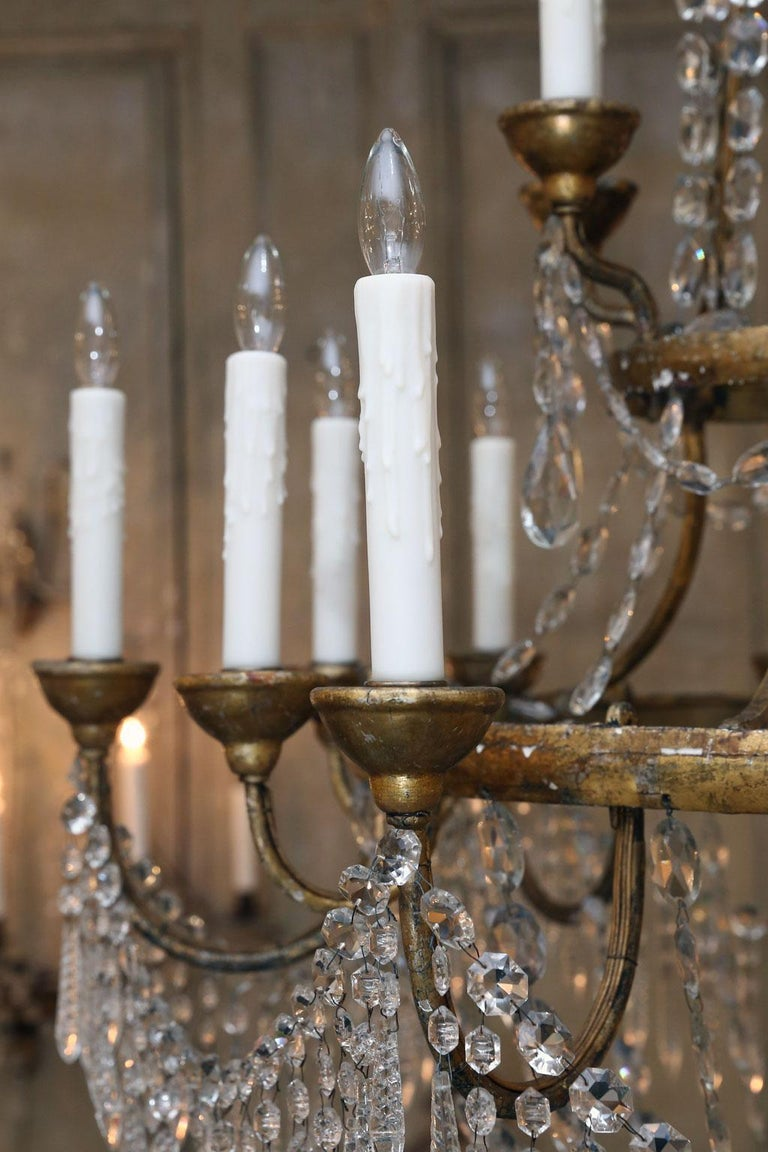 Large-Scale Neoclassical Chandelier For Sale 2