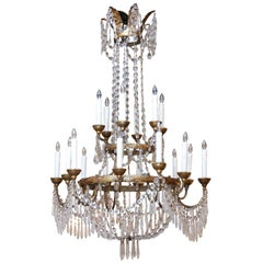 Large-Scale Neoclassical Chandelier