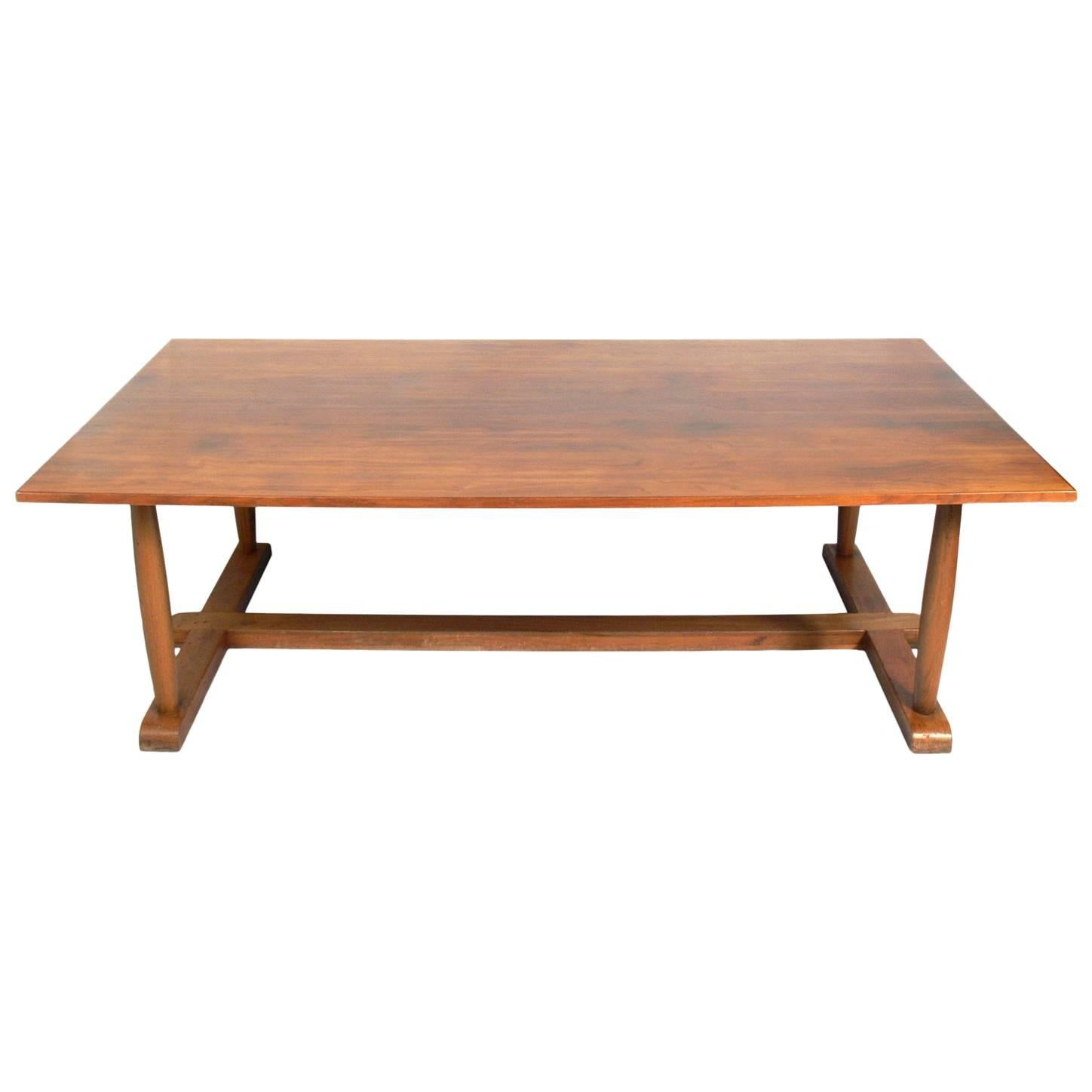Large-Scale Neoclassical Dining Table
