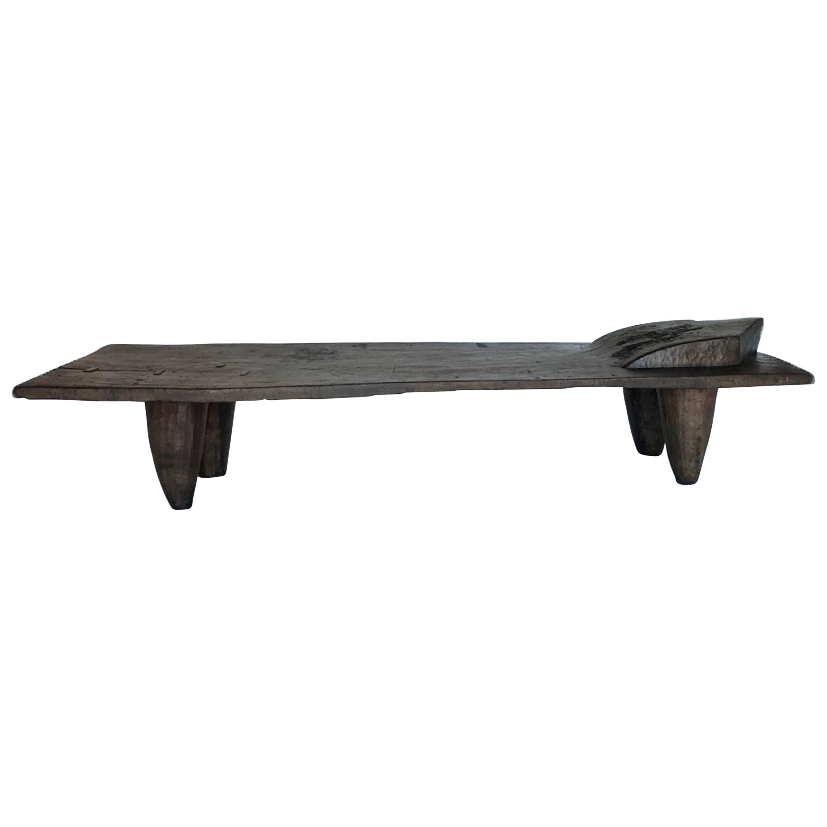 Large Scale Old Senufo Tribe Bed/Coffee Table/Bench