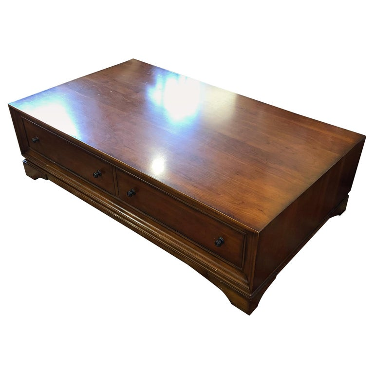 Restoration Hardware Coffee Table.Large Scale Portman Coffee Table By Restoration Hardware