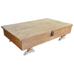 Large Scale Primitive Trunk, Coffee Table