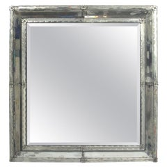 Large Scale Square Venetian Mirror