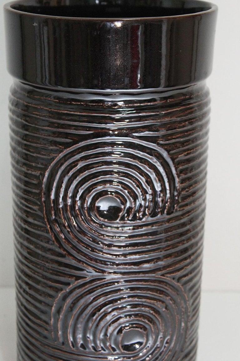 Glazed Large Scale Swedish Gustavsberg Stoneware Vase, Britt-Louise Sundell, circa 1965 For Sale