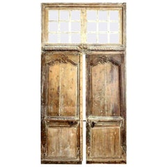 Large Scale Transomed Louis XV Doors