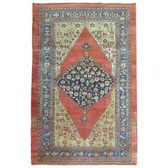 Large Scale Tribal Persian Bidjar Room Size Rug