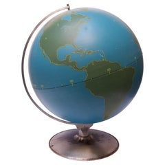 Large-Scale Vintage Military Globe / Activity Globe by A.J. Nystrom