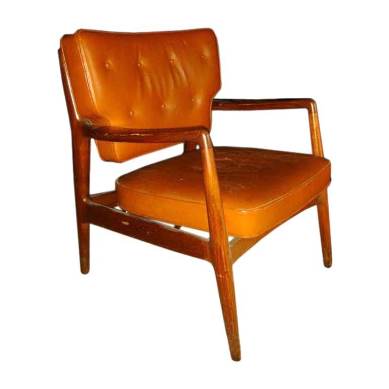 Large Scandinavian Armchair