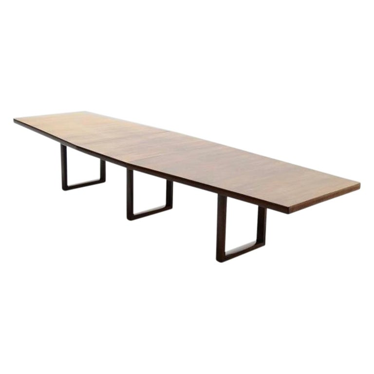 Danish Large Scandinavian Conference or Dining Table, circa 1960 For Sale