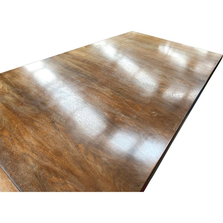 Large Scandinavian Conference or Dining Table, circa 1960 For Sale 1
