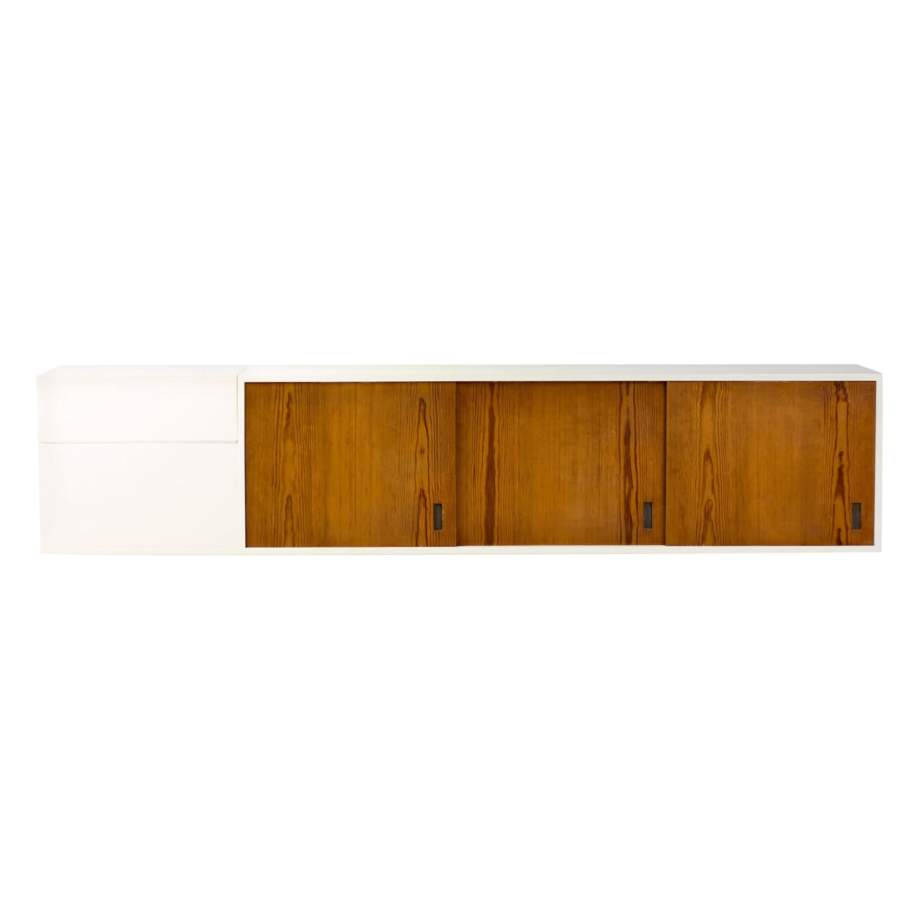 Large Scandinavian Floating Sideboard