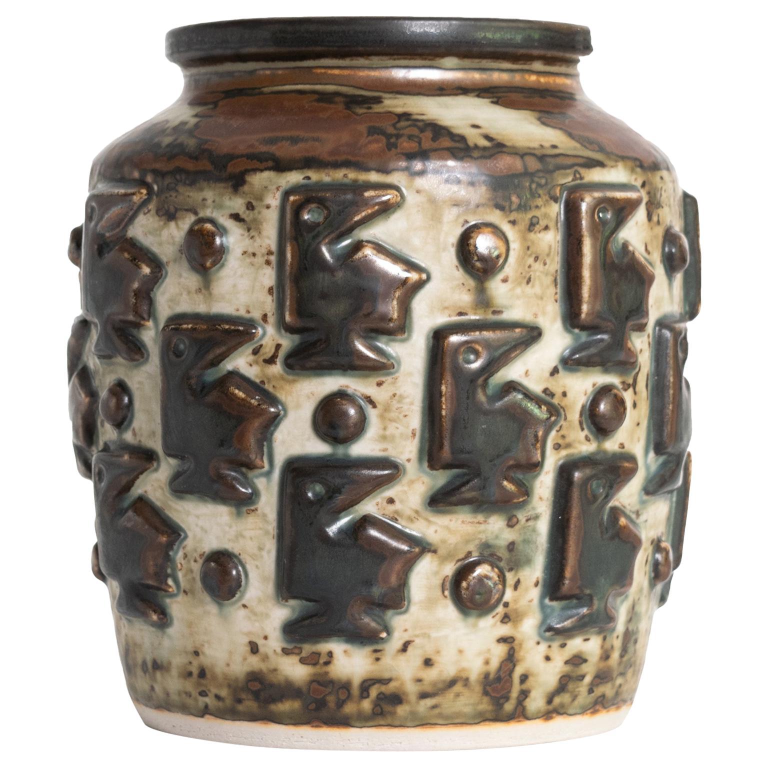 Jorgen Mogensen for Royal Copenhagen Ceramic Scandinavian Modern Vase