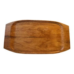 Large Scandinavian Serving Tray in Teak from Åry, 1960s