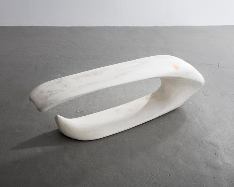 American Large Sculptural Bench in Laminated Southern Pine by Rogan Gregory, 2016 For Sale