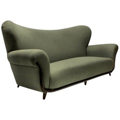 Large Sculptural Sofa by Ulrich
