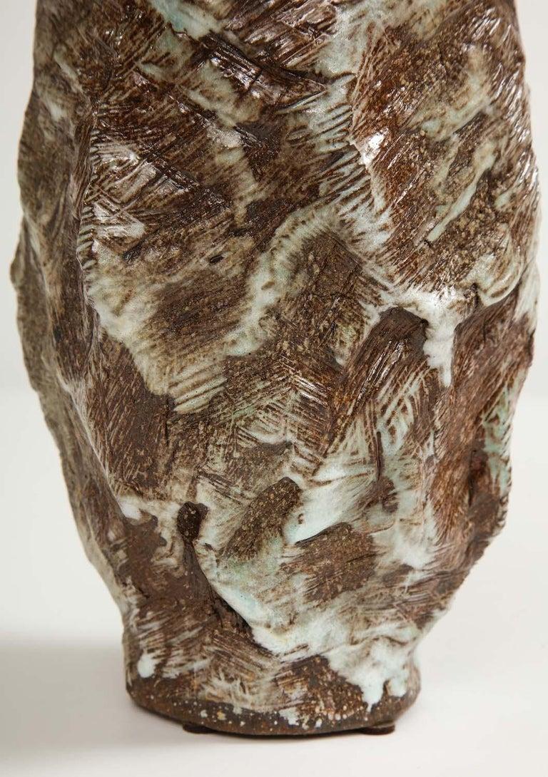 Mid-Century Modern Large Sculptural Vase #2 by Dena Zemsky For Sale