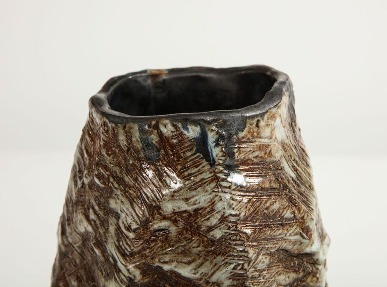 Large Sculptural Vase #2 by Dena Zemsky In New Condition For Sale In New York, NY
