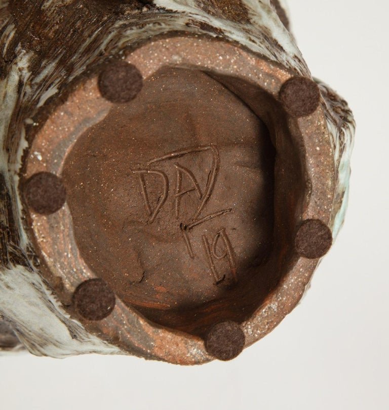 Contemporary Large Sculptural Vase #2 by Dena Zemsky For Sale