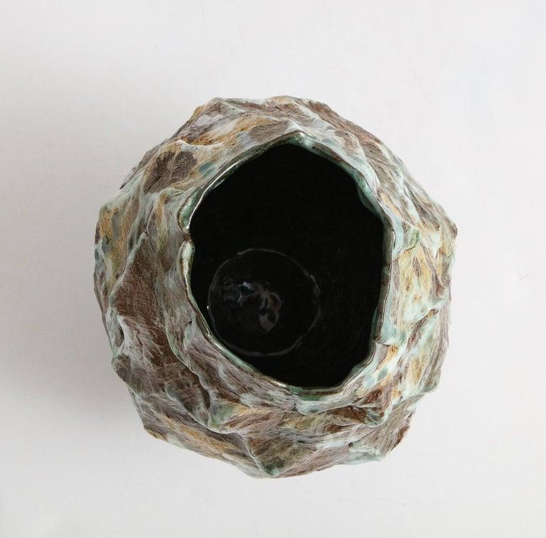 Contemporary Large Sculptural Vase #4 by Dena Zemsky For Sale
