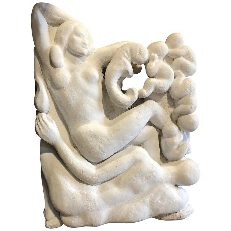 Large Sculpture by Waylande Gregory For Sale