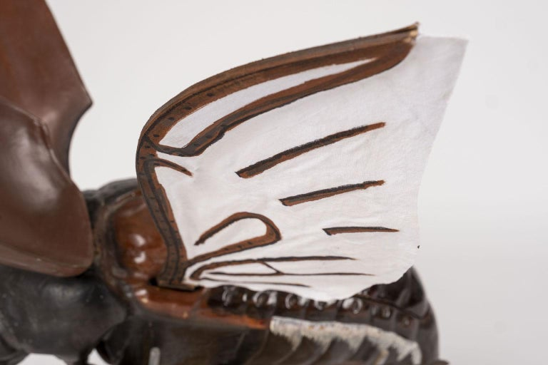 Large Sculpture of Insect in Flight For Sale 6