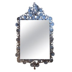 Large Sea Shell Iron Mirror