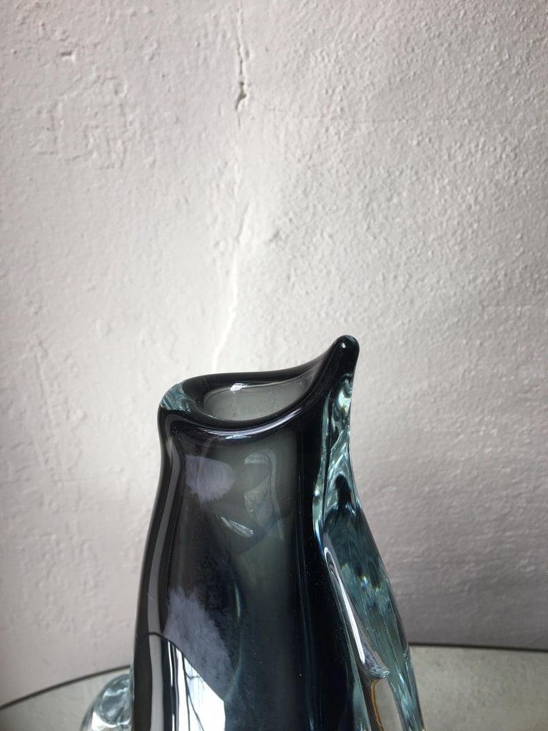Mid-Century Modern Large Seguso Vase For Sale