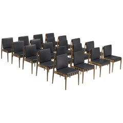 "Large Set of 20 ""Berlin"" Chairs by Egon Eiermann"